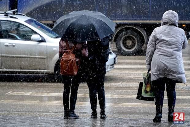 Ближайшие два дня в Крыму ожидаются сильные ливни и град