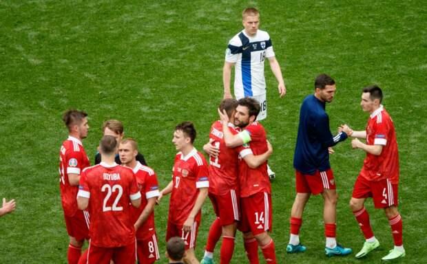 Россия занимает второе место в группе после двух туров Евро-2020