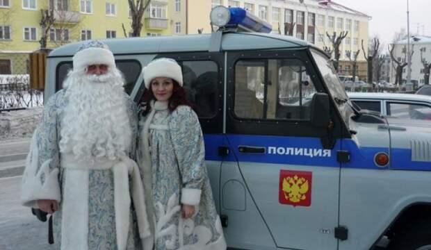 СМСка от Деда Мороза - пикареска....