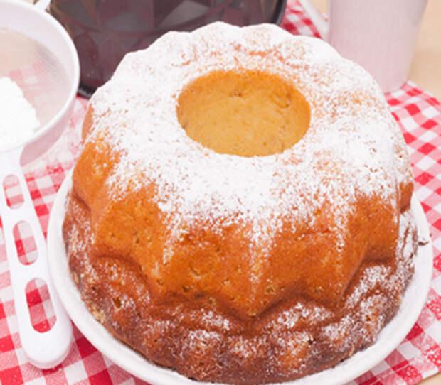 Кекс «Заварной» с творожным кремом рецепт с фото.