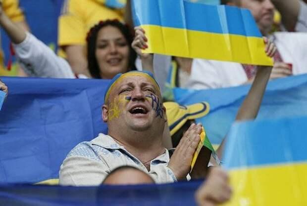 Разница между Украиной и Россией на примере футбола: украинцы болели за Бельгию, россияне – за Украину