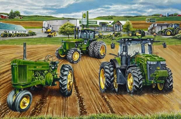 Российские фермеры богаче советских колхозников
