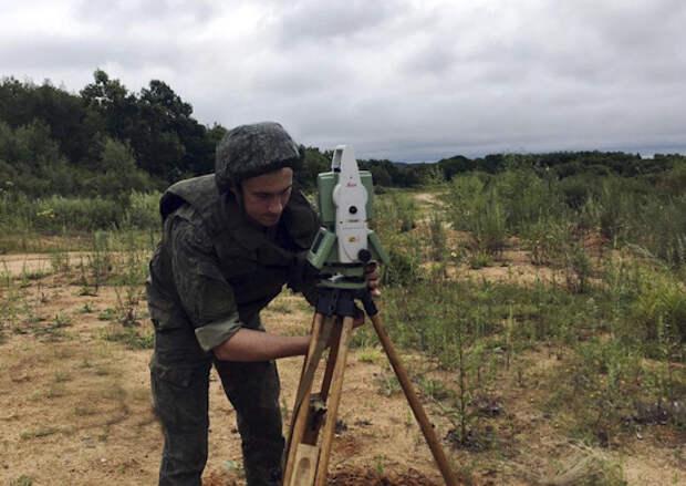 В Забайкальском крае прошла тренировка специалистов топографической службы ВВО на современной навигационной технике