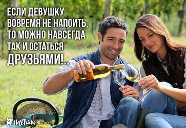 Пятничный алкогольный юмор