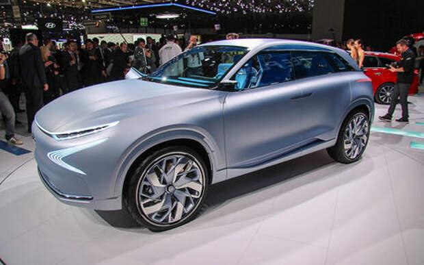 Олимпийский резерв: Hyundai FE Fuel Cell станет серийным в 2018 году