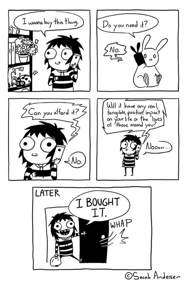Комиксы про покупки
