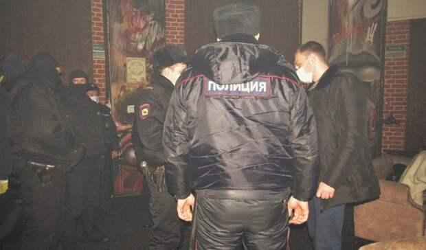В9 развлекательных заведений Оренбурга нагрянул ОМОН