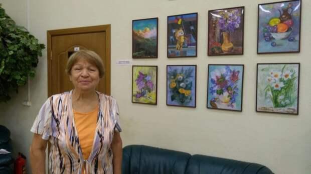 Жительница Алтуфьева вновь учит рисовать людей старшего поколения