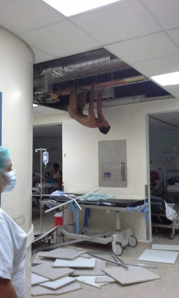 У врачей всегда все под контролем  больница, врачи, медицина, прикол, юмор