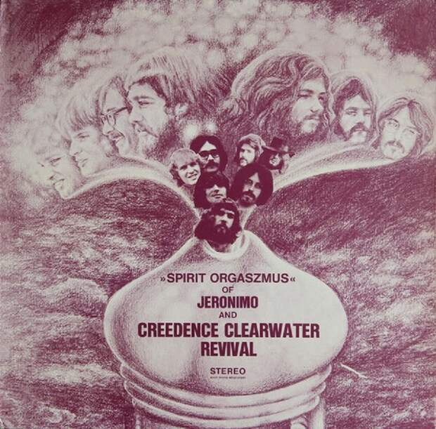 Jeronimo & Creedence Clearwater Revival. Spirit Orgaszmus 1970