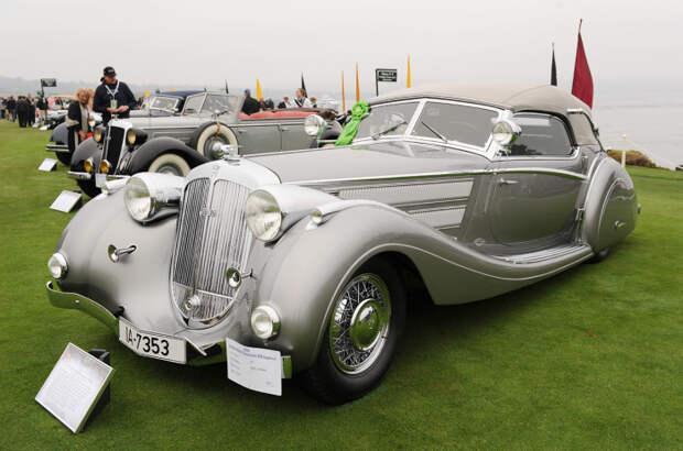 Чего только стоит выпущенный в единственном экземпляре Horch 853 Voll & Ruhrbeck Sport Cabriolet. | Фото: blogcdn.com