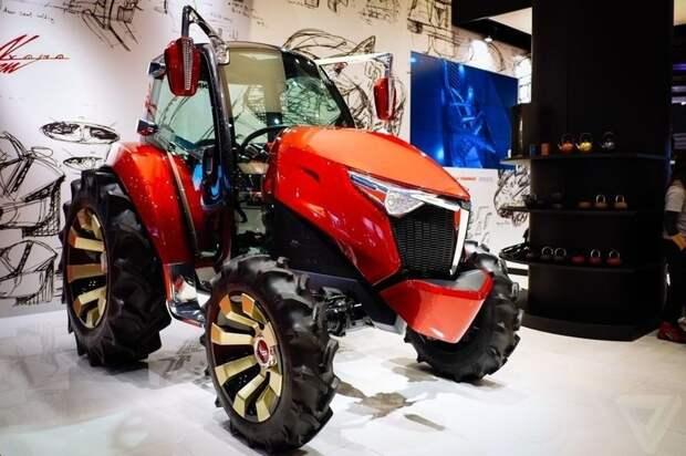 Удивительные трудяги сельской местности авто, прикол, трактор, тюнинг
