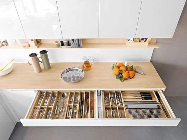 Системы хранения на кухне: практичные и доступные идеи (29 фото)