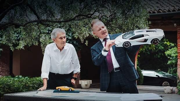 Марчелло Гандини открестился от нового купе Lamborghini Countach