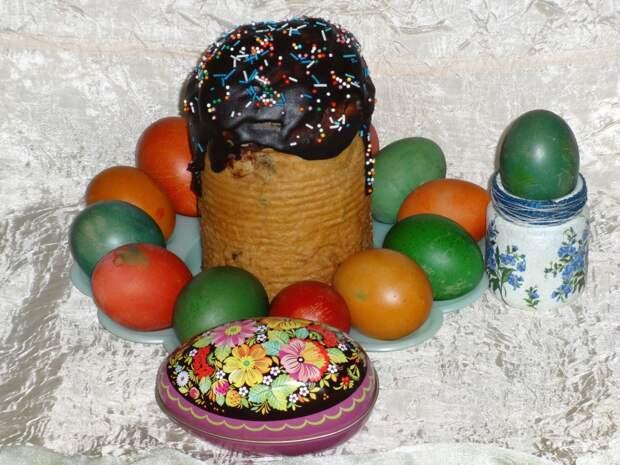 Пасхальные куличи с шоколадом #пасха2021