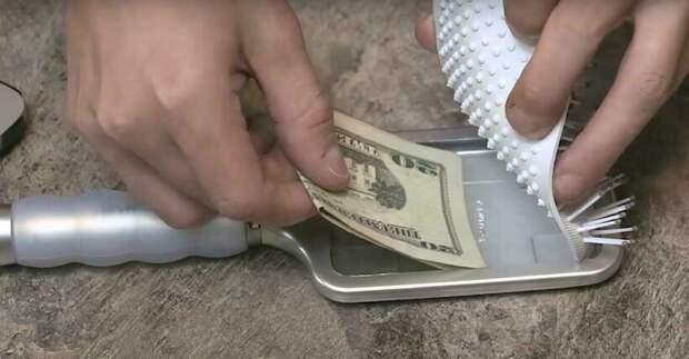 Дезодорант, расческа и еще 10 мест, куда прятать наличные деньги во время путешествия