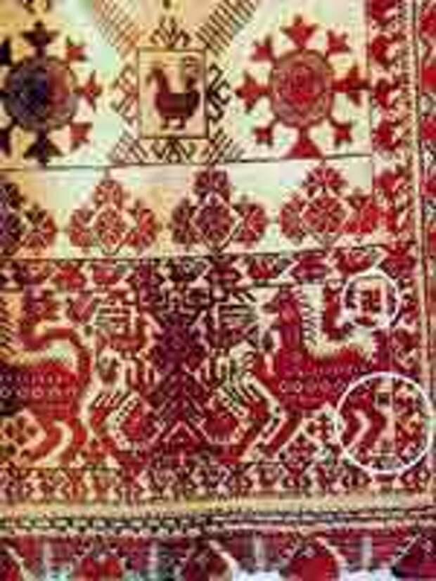 Свастика на Переднике. Русский Север