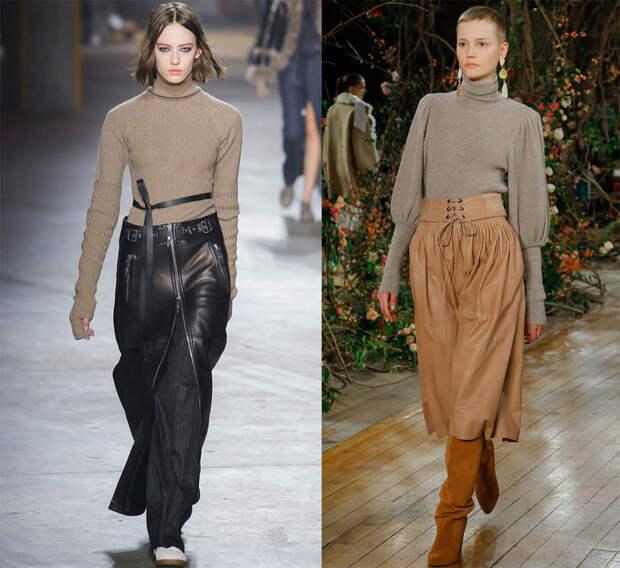 Модные женские свитера