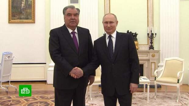 Путин заявил о поддержке Таджикистана на фоне ситуации в Афганистане