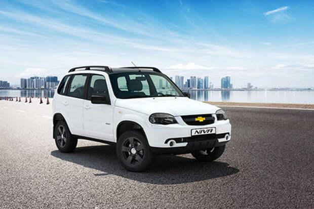 Черно-белая Chevrolet Niva скоро появится у официальных дилеров