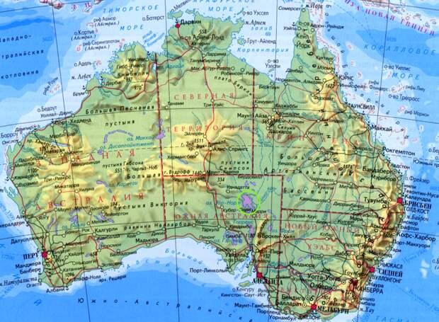 Красота исчезающего озера Эйр в Австралии