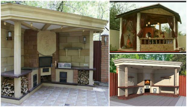 Летняя кухня на даче своими руками, пошагово с фото