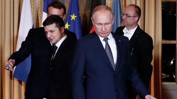 На Украине усомнились в возможности встречи Путина и Зеленского