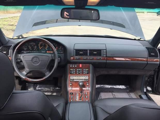 Два новых Мерседеса S-Класса W140, прямиком из 90-х