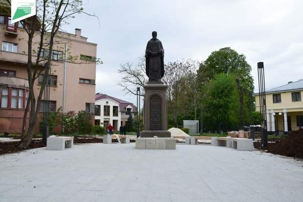 Сквер имени Сергия Радонежского в Симферополе откроют 1 июля