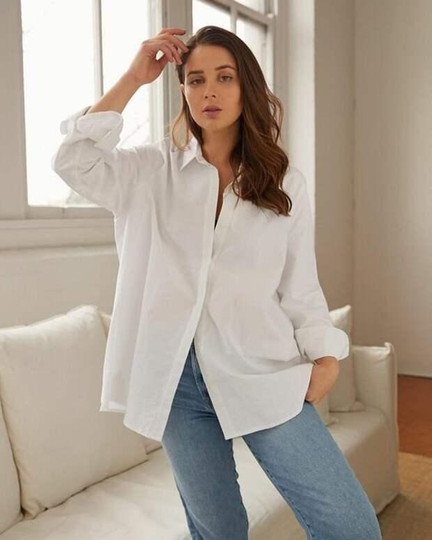 Самые актуальные модели белых рубашек на сезон весна-лето 2021. Какая ваша любимая?