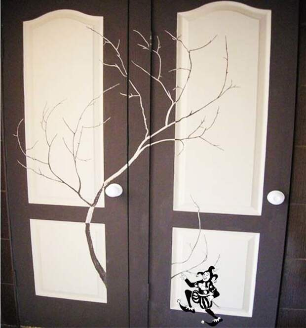 Деревья на тумбочке Строительные советы, сделай сам, советы, умелые руки, фото