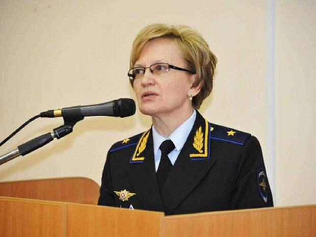 Главный следователь московской полиции Агафьева подала рапорт об отставке