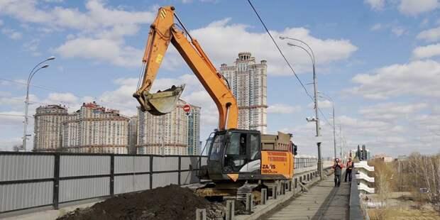 Ремонт Строгинского моста пройдет в четыре этапа