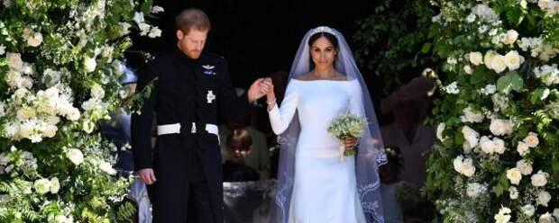 Королевская семья Британии проигнорировала годовщину свадьбы принца Гарри и Меган