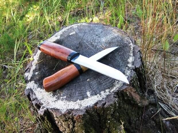 4 способа заточки ножа в походе