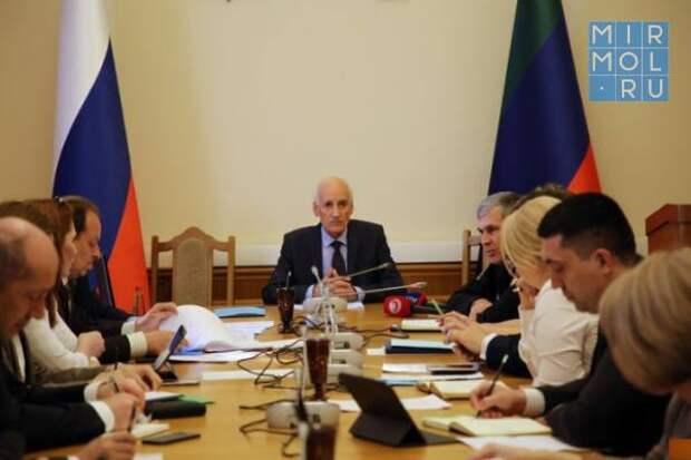 Подготовку к Параду Победы обсудили в Правительстве Дагестана