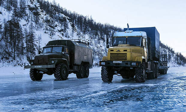 Заработки дальнобойщиков Севера. Сколько получают водители за рейсы по опасным зимникам
