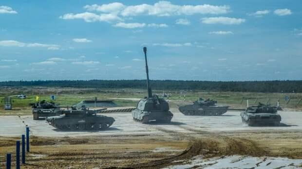 Россия победила в масштабных армейских соревнованиях