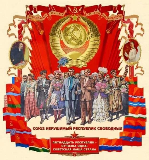 Кому без СССР жить хорошо: какие республики выиграли от развала союза