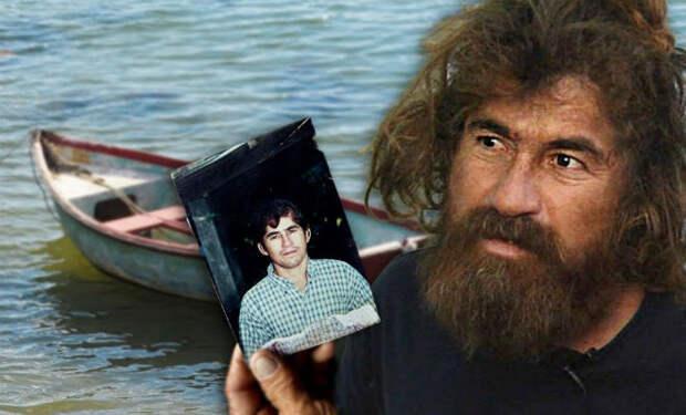 Лодку с рыбаком вынесло в открытый океан и он жил на ней 438 дней