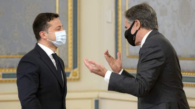 Украинские блогеры и политологи остались недовольны визитом Блинкена в Киев