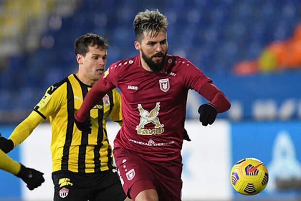 Сербский футболист назвал главный минус игры в России