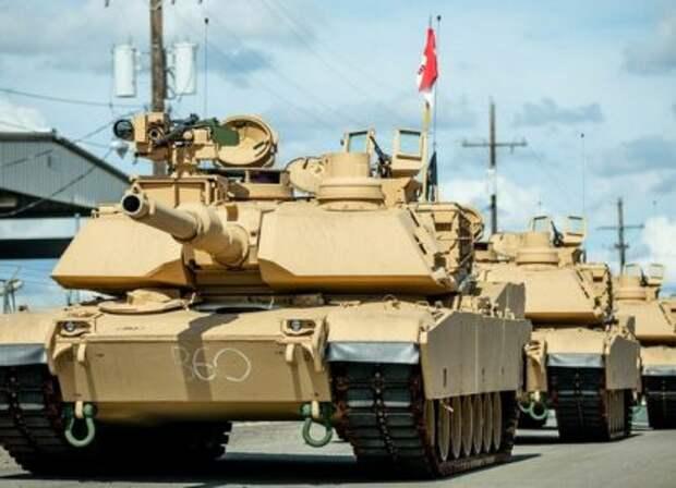 Польша нацеливает на Калининград американские танки
