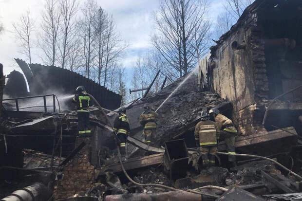 Появились кадры момента взрыва на пороховом заводе под Рязанью