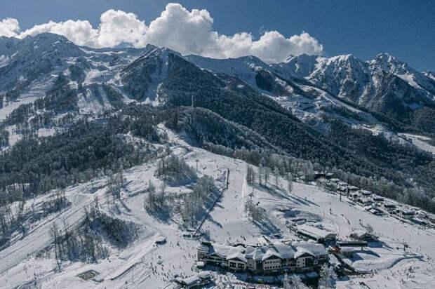 В горах Сочи за зиму побывали около 200 тысяч туристов
