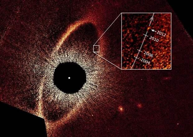 Астрономы показали вращение далекой системы экзопланет