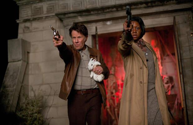Кадр  из фильма «Семь психопатов» (2014)