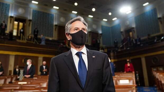 Блинкен прибыл в Киев для переговоров с Зеленским