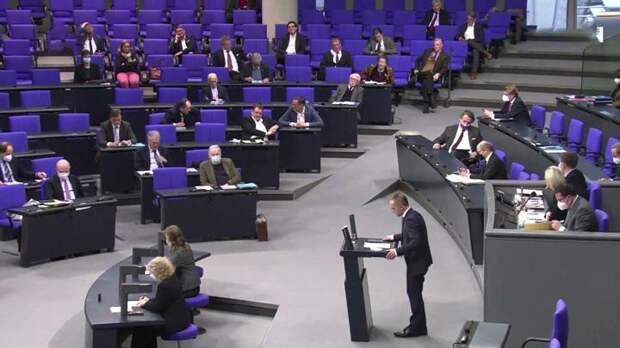 Бундестаг отказался рассматривать вопрос ужесточения санкций против России