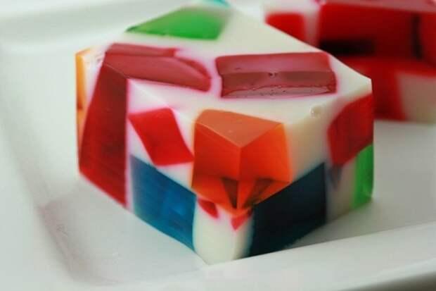 Желе-десерт «Разбитое стекло»